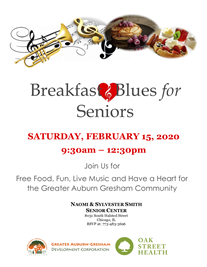 Community Breakfast and Blues for Seniors