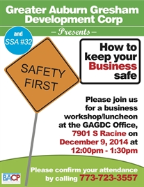 How To Keep Your Business Safe Workshop