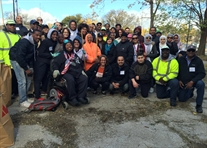 Streets Cleaned, Vets Honored in Day of Service