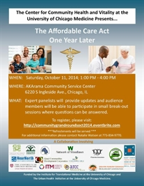 The Affordable Care Act One Year Later