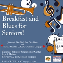 Help Serve Our Seniors at Breakfast and Blues for Seniors February 2018!