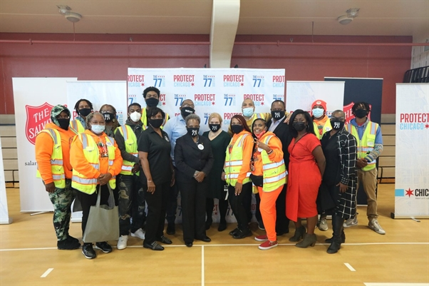 COV19 Response and Health Equity Team Promotes Protect Chicago 77 Campaign