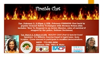 February Fireside Chat: Learn Real 'Safety Techniques' From An Expert!