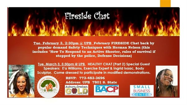 February Fireside Chat: Real 'Safety Techniques' For the New Year!