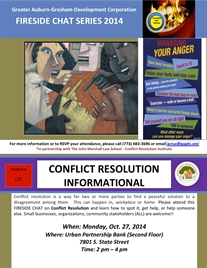Fireside Chat Series: Conflict Resolution Informational