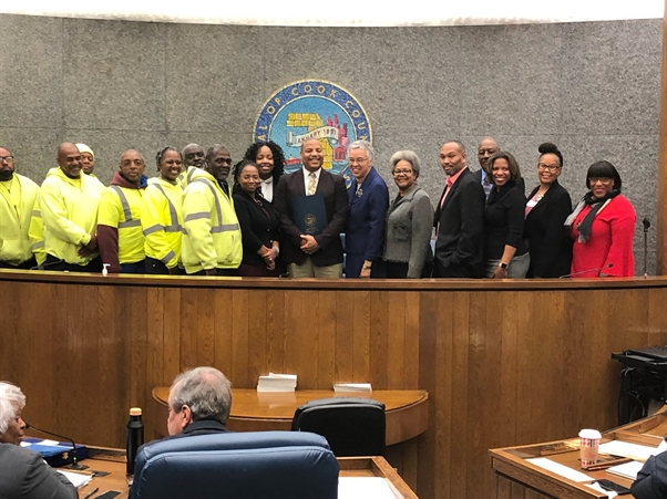 The Greater Auburn Gresham Development Corporation Honored by Cook County Board For Community Service