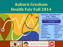 Join Us: Auburn Gresham Health Fair On The Block Sept. 25th!