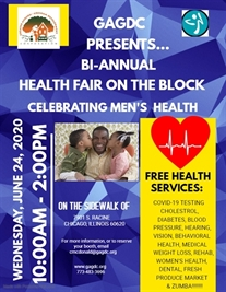 Auburn Gresham Health Fair on the Block (Get Tested for Free)