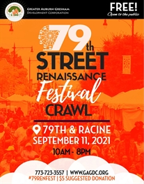 79th Street Renaissance Festival Crawl 9.11.21!