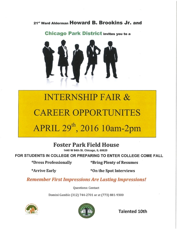 Internship Fair & Career Opportunities April 29th!