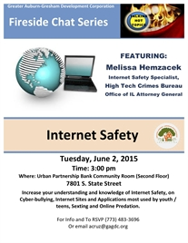 JUNE Fireside Chat Topic: INTERNET SAFETY!