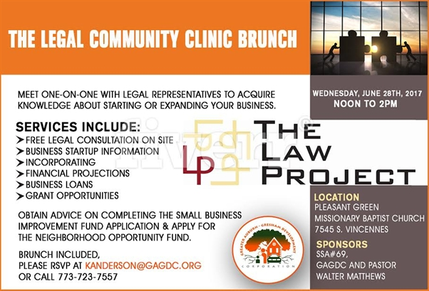 The Legal Community Clinic Brunch