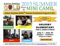 Summer Camp 2015 Register OPEN!
