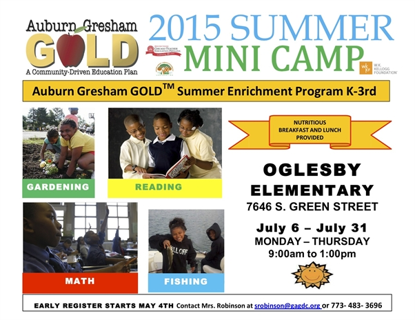 Free Summer Enrichment Camp, Registration is Now Closed!