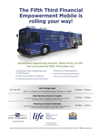 The Fifth Third Financial Empowerment Mobile is rolling your way!