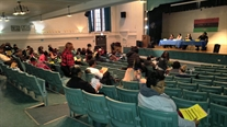 In Spite of Weather, Parents Turn Out For Oglesby Elementary School Principal Candidate Forum