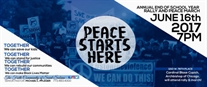 PEACE Starts HERE | Annual End of School Year Rally and Peace March