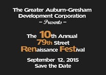 Hot Off the Presses| Save the Date | #RenFest 2015
