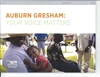 'Auburn Gresham: Your Voice Matters' Quality of Life Plan