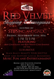 Shop Local Red Velvet Shopping Extravaganza Friday!