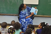 State Senator Jacqueline Collins Leads Storytime At Auburn Gresham GOLD Summer Camp