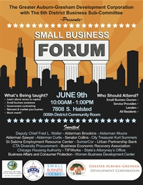 GADC and 006th District Small Business FORUM
