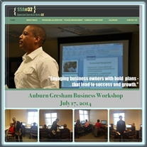 SSA #32 July 17, 2014, Business Workshop Recap