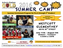 Auburn Gresham GOLD Summer Enrichment Camp