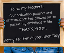 Celebrate National Teacher Appreciation Week!
